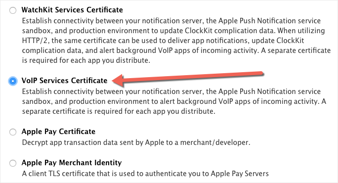 PortSIP VoIP SDK support mobile PUSH notifications