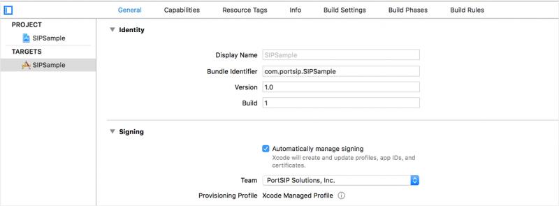 PortSIP VoIP SDK support receive PUSH notifications